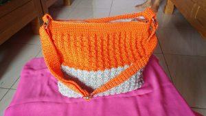 Tas Rajut Orange